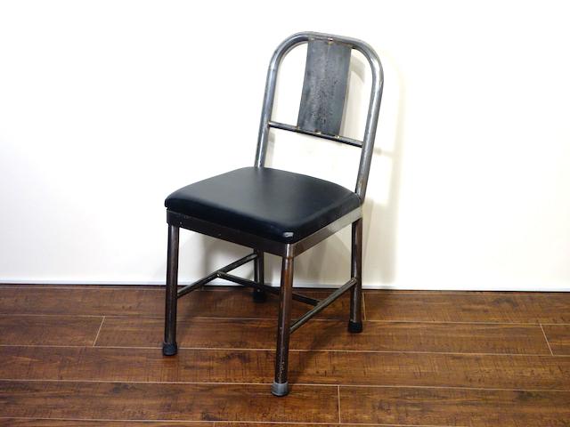 【家財宅急便Bランク】 ロイズアンティークス インダストリアル メタル チェア 椅子 いす ヴィンテージ ビンテージ【中古】
