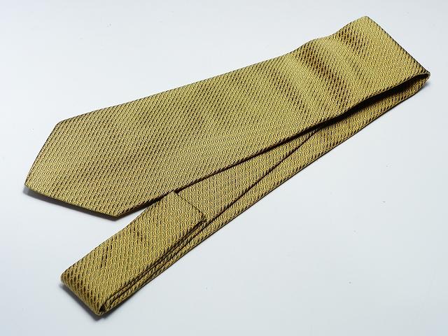 Salvatore Ferragamo フェラガモ 魚柄 ゴールド×グリーン フィッシュ ネクタイ 100シルク メンズSUzMVpq
