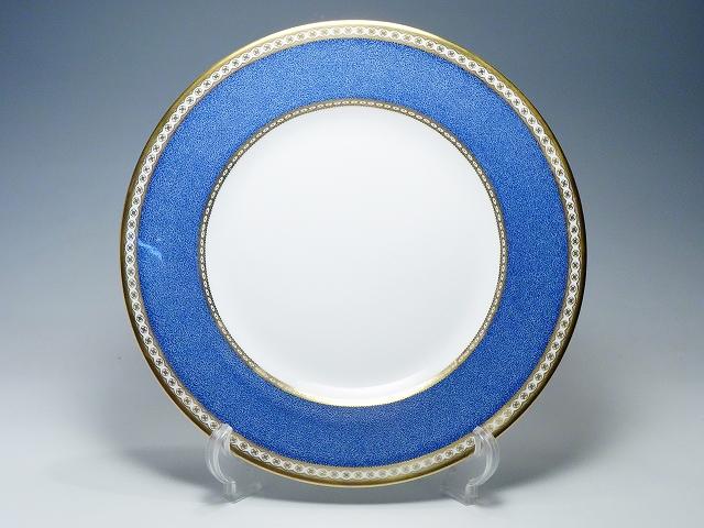 WEDGWOOD ウェッジウッド ULANDER POWDER BLUE ユーランダーパウダー ブルー ディナープレート 27.5cm 大皿 【中古】
