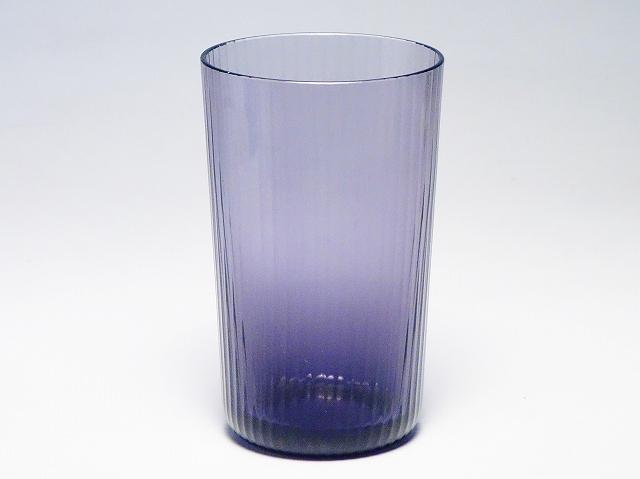 HERMES エルメス クリスタルガラス タンブラー グラス コップ パープル【中古】