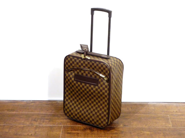 LOUIS VUITTON ルイ ヴィトン ダミエ ペガス45 キャリーケース トラベル バッグ トランク スーツケース キャスター付き【中古】