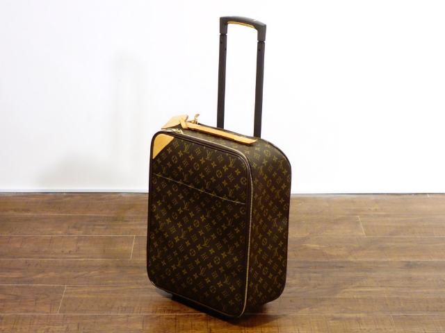 LOUIS VUITTON ルイ ヴィトン モノグラム ペガス45 キャリーケース トラベル バッグ トランク スーツケース キャスター付き【中古】