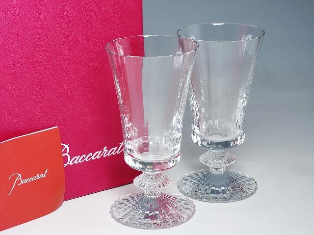 【バカラ ミルニュイ ワイングラス ペアセット】(Baccarat クリスタル ガラス おしゃれ 綺麗 高級 二客)【中古】
