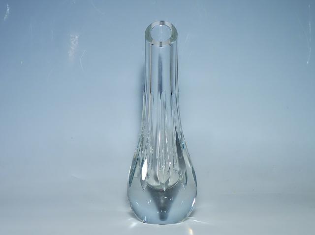 バカラ Baccarat アニック7 花瓶 フラワーベース 【中古】