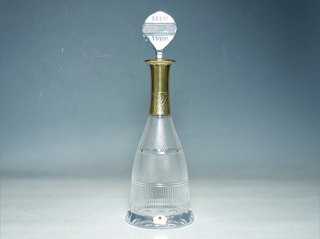 MOSER クリスタル ガラス モーゼル スプレンディド スプレンディッド ボトル チープ デキャンタ 送料無料/新品 酒器 デカンタ 中古