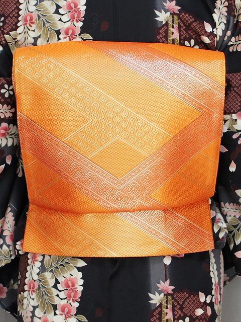 袋帯 佐賀錦 正絹袋帯 在庫処分 仕立て済 E7211