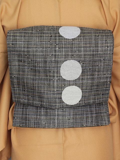 袋帯 おしゃれ帯 変わり織 当店在庫処分 お仕立て済 送料無料 O0205
