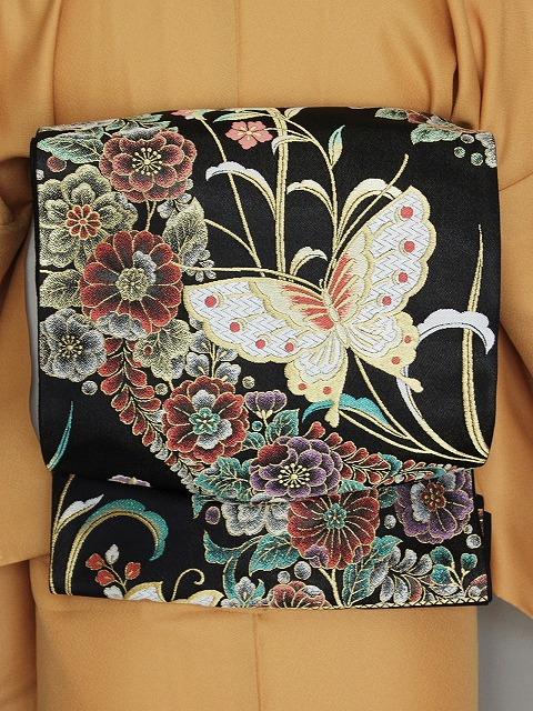 袋帯 振袖用 正絹袋帯 当店在庫処分 お仕立て済 P0062