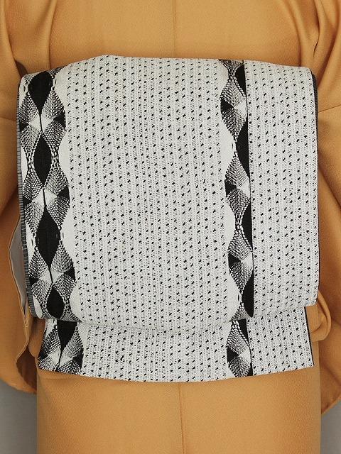 袋帯 全通帯 綾樹宝 組帯 おしゃれ帯 お仕立て済 Q2162-01