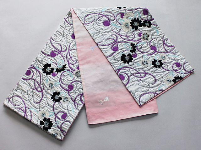 激安!Wサービス!日本製高級正絹袋帯(未仕立) U3464 - arai-kensetsu.jp