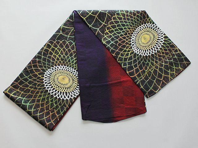 激安!Wサービス!日本製高級正絹袋帯(未仕立) U5683