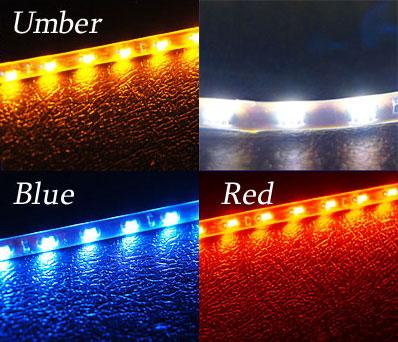 LED tape side light emission 90cm X 90LED extra-fine 4mm width  waterproofing custom parts