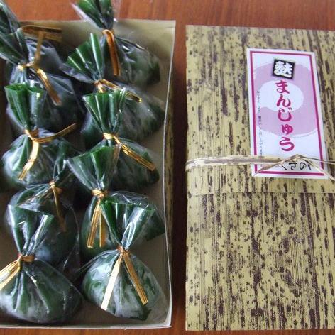 麩の独特なツルンとした食感と粘りそして青のりの香りが絶品です SALE開催中 越後新潟の麩まんじゅう 麩饅頭 5%OFF 8個入り 冷凍