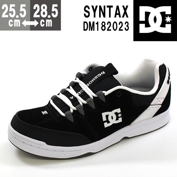 スニーカー メンズ ディーシーシュー ローカット 黒 靴 DC SHOES SYNTAX DM182023 tok