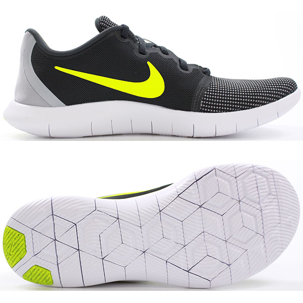 Men Nike Flex Contact 2 Training Athletic Shoes Wolf Gray /& black AA7398-005