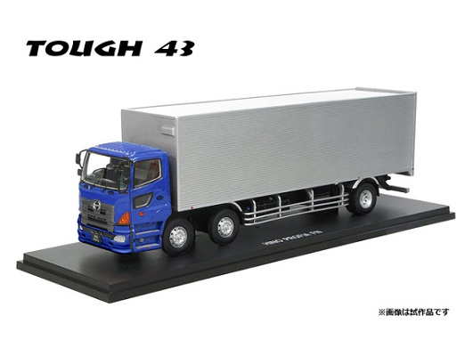 『TOUGH 43 1/43 HINO PROFIA FN 2010 メタリックブルー』
