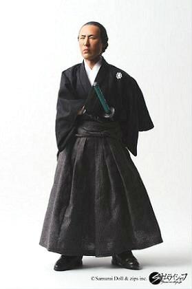 『Samurai Doll 1/6 坂本龍馬アクションフィギュア プレミアム版』