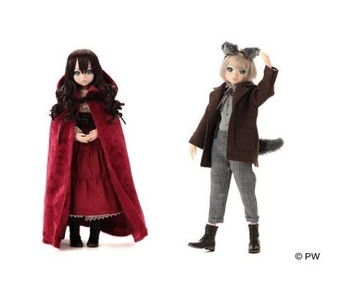 『あかずきん ruruko girl&おおかみ ruruko boy』