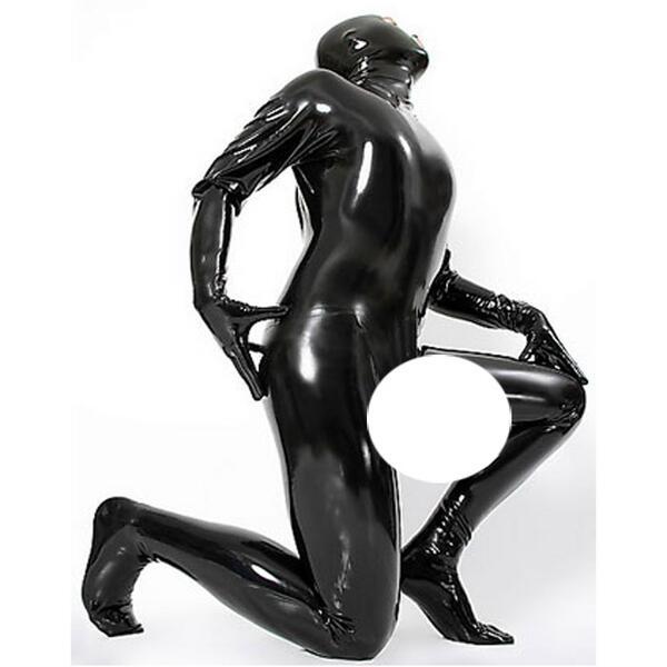 latexa-3108-男性用☆ラバートータルキャットスーツ【送料無料】【ラバー】【ラテックス】【ボンデージ】