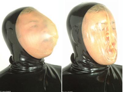 latexa-3077-ラバーバキュームマスク【送料無料】【ラバー】【ラテックス】【ボンデージ】