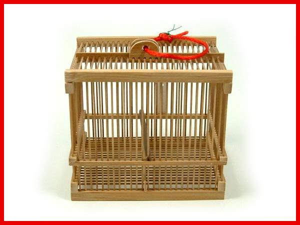 竹製 虫籠 (小) 【全2色】