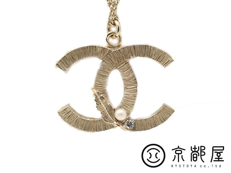 【京都屋質店】 【CHANEL シャネル】ココマーク ネックレス MADE IN ITALY B12A 中古 美品【中古】