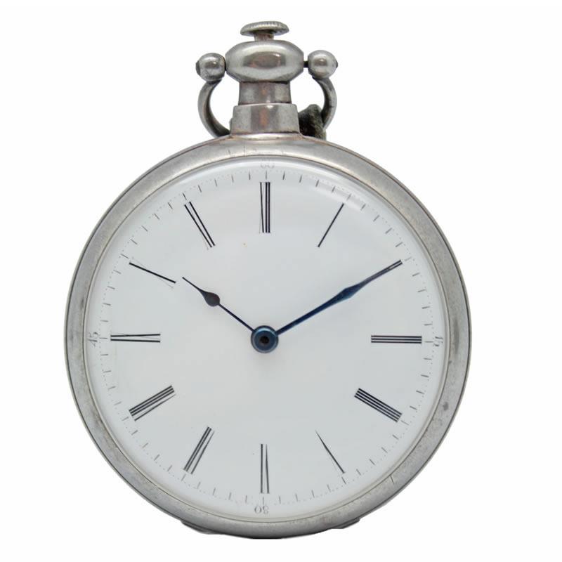 BOVET ボヴェ 懐中時計 純銀製 1800年代製 アンティーク 中古【中古】