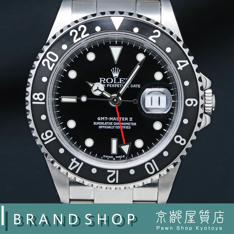 cheap for discount a21fc 49285 新作入荷!!】 ROLEX GMT MASTER II 16710ロレックス GMTマスター ...