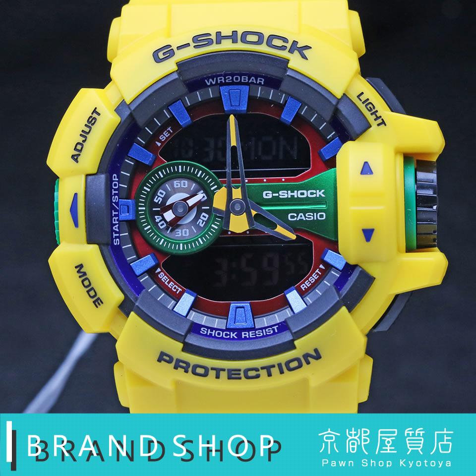 CASIO G-SHOCK Hyper Colors GA-400-9AJF カシオ ジーショック ハイパーカラーズ クオーツ 【未使用】【京都屋質店】【PAWN SHOP】【質屋出店】
