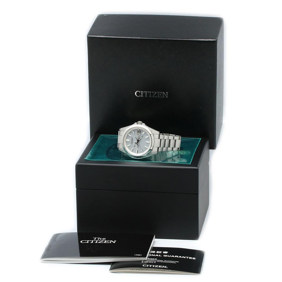The CITIZEN AQ1030 57A Eco Drive modelザ・シチズン エコ・ドライブ アクティブシリーズ AQ1030 57A 光発電エコ・ドライブ ステンレス 白色めっき処理 PAWN SHOP質屋出店ブランド腕時計国産腕時計tQrhdsC