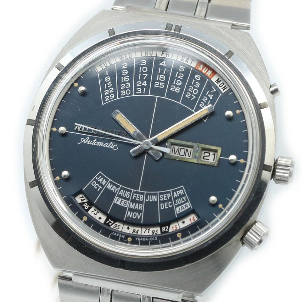 Wittnauer ウィットナーウィットナー2000 万年カレンダー 1970年頃製造 中古【中古】【ブランド腕時計】【PAWN SHOP】【質屋出店】