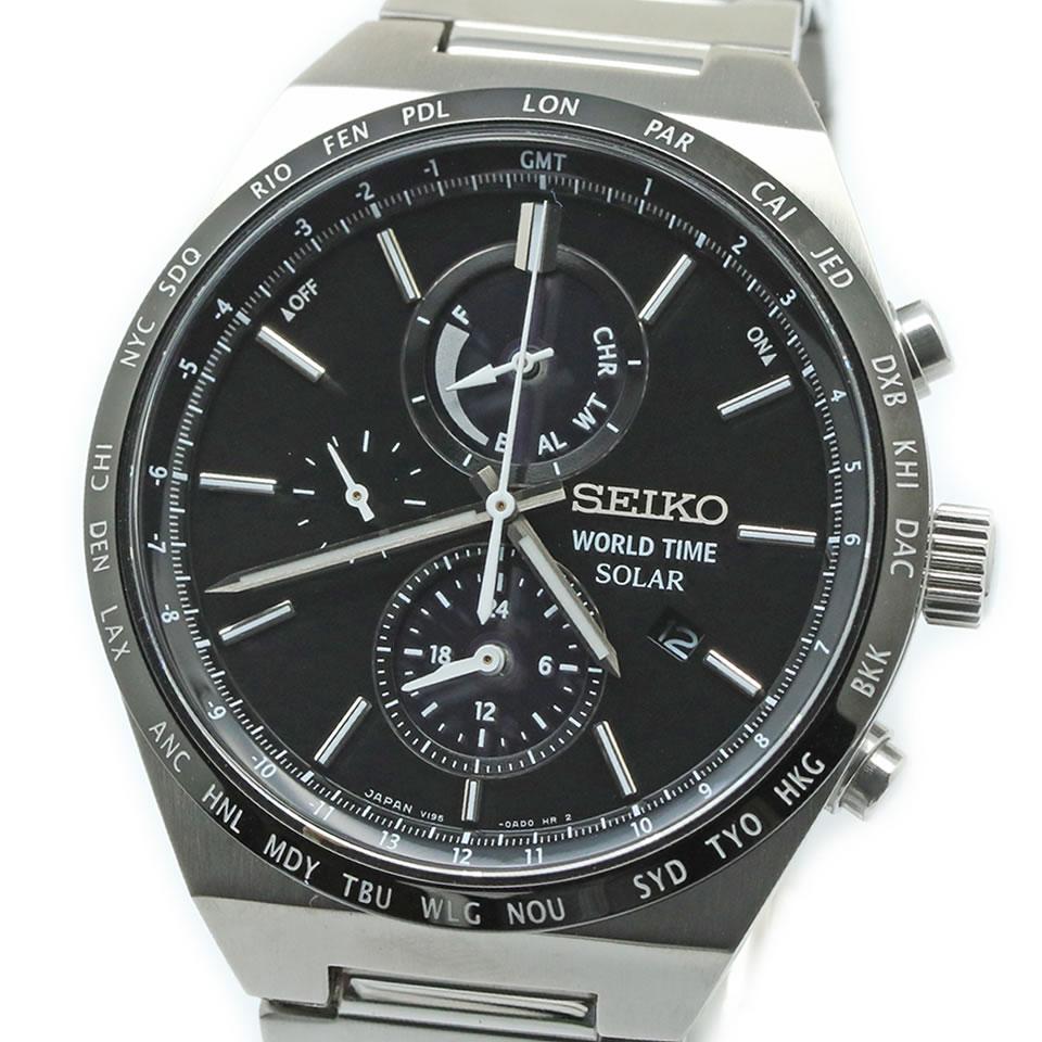 SEIKO SPIRIT SBPJ025セイコー スピリット ソーラー SBPJ025【ブランド腕時計】 【中古】【PAWN SHOP】【質屋出店】