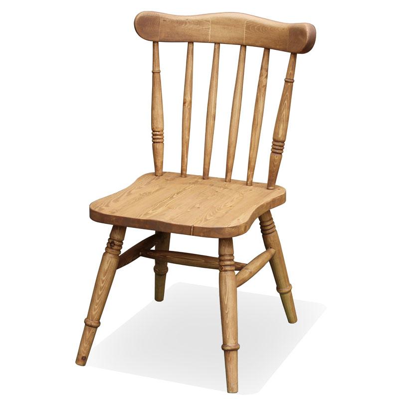 カントリー家具 ナチュラルカントリー【Pine Furniture】パインファニチャー cotoキッチンチェア co-03 パイン材無垢 イス 椅子