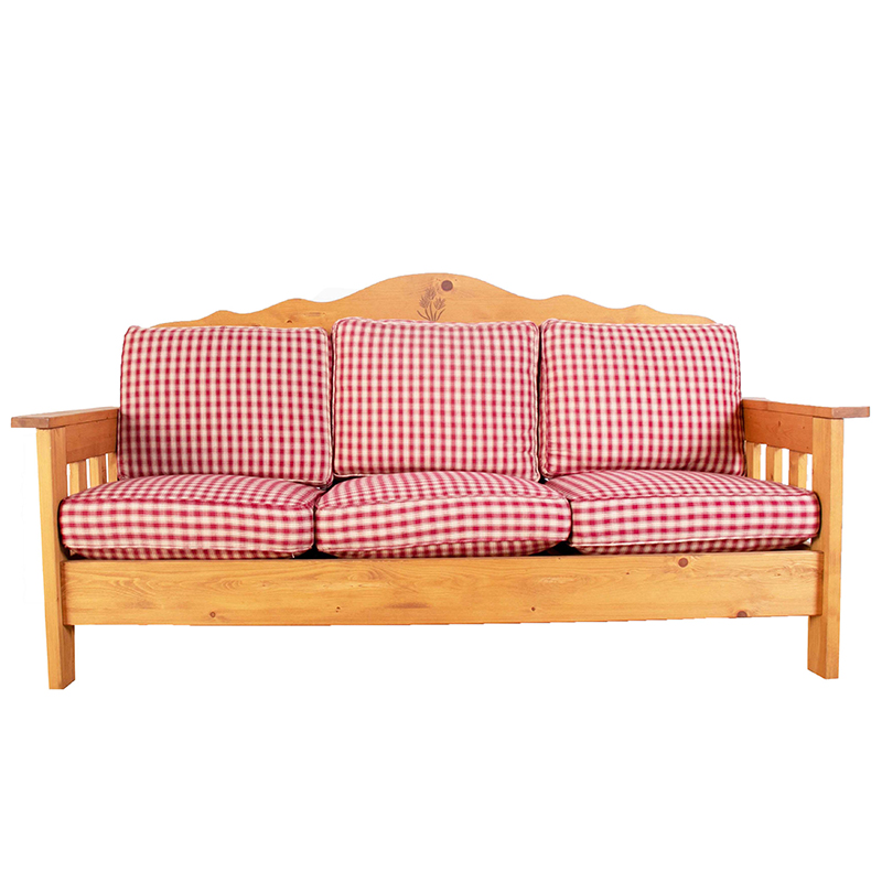 アメリカンカントリー カントリー家具 デンバー3人掛けソファ 麦の穂