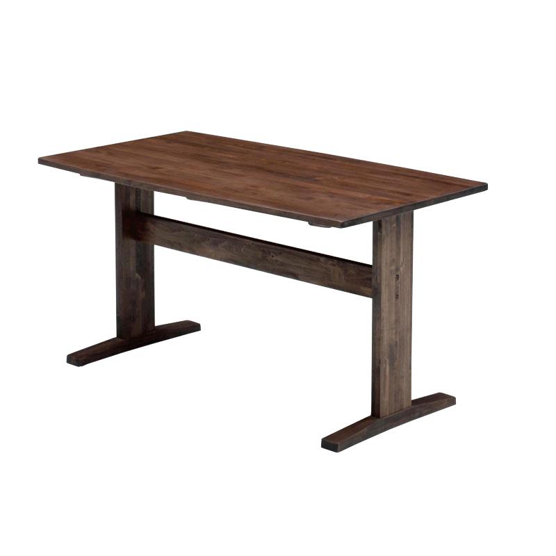 ナチュラル家具 オイル仕上げ リビングテーブル【elmo series】 エルモ 120LDテーブル WN 自然塗料使用 テーブル