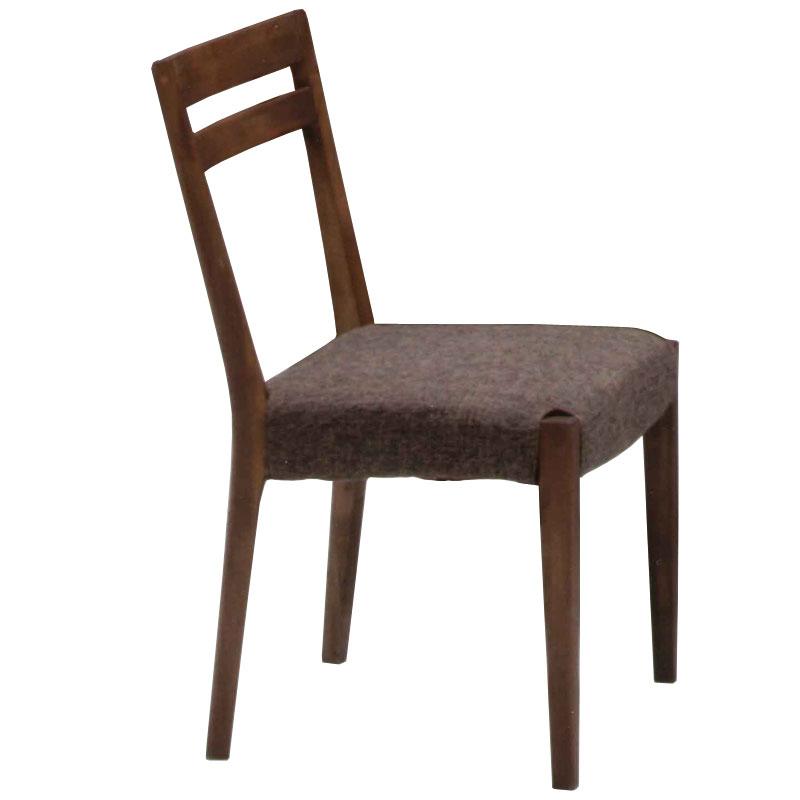 ナチュラル家具 オイル仕上げ ダイニングチェア【elmo series】 エルモ 47ダイニングチェア WN 自然塗料使用 椅子