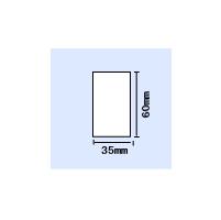 【送料無料】B-EV4T用白無地コート紙 横35mm×縦60mm 〔20,000枚〕