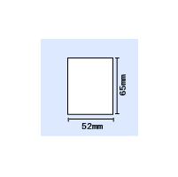 【送料無料】B-EV4T用白無地コート紙 横52mm×縦65mm 〔20,000枚〕 〔20,000枚〕, オオヤママチ:fb54ddce --- officewill.xsrv.jp