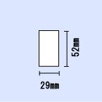 ブラザーQLシリーズ用DKプレカットラベル DK-1226【3巻セット】
