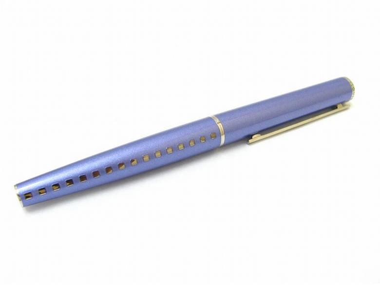 ルイヴィトン LOUIS VUITTON LV ボールペン 79252 ジェット リーニュ ブルー メタル 【送料無料】【ブランド品】【中古】【ブランド】【コンビニ受取対応商品】