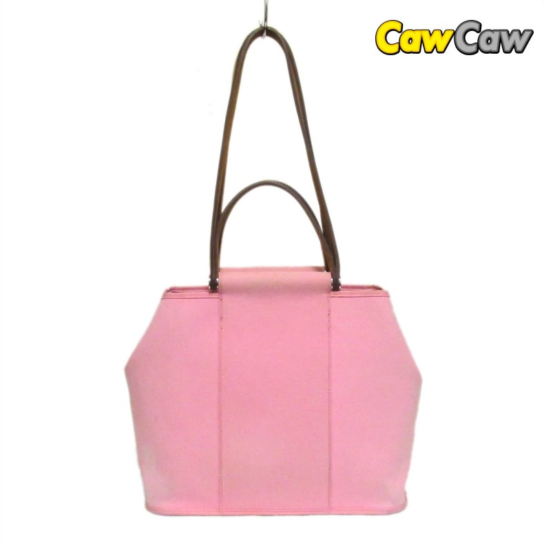 0481a56181c8 エルメスショルダートートバッグカバック PM Rose cherry tree □ N carved seal canvas bag pink ...