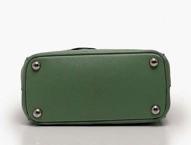 ac1723ec45 ... top quality prada handbag shoulder bag prada mini green yellowish green  acquamarina 1bh907 key ring charm
