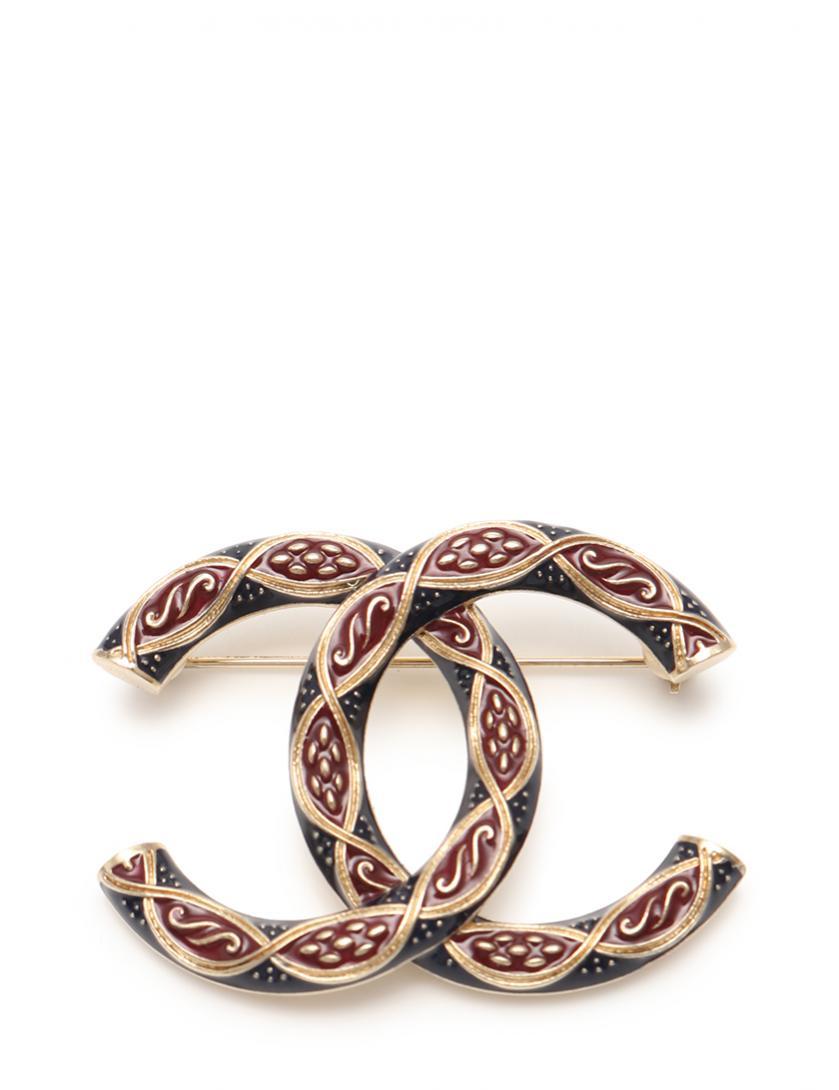 CHANEL シャネル ココマーク スクリュー型 ブローチ A17-A ピン【送料無料】【未使用品】