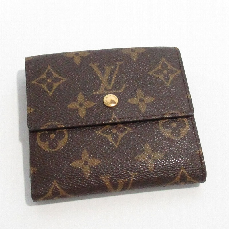 LOUIS VUITTON ルイヴィトン M61652 Wホック財布【送料無料】【中古】