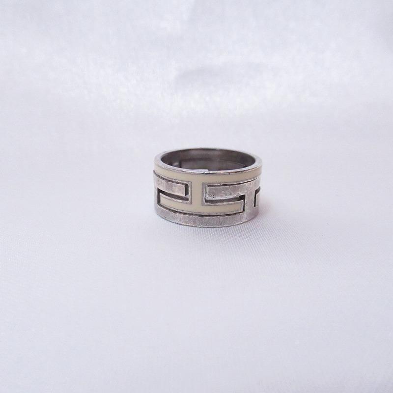 HERMES エルメス ムーブアッシュリング 指輪 SV925 シルバー #54【中古】