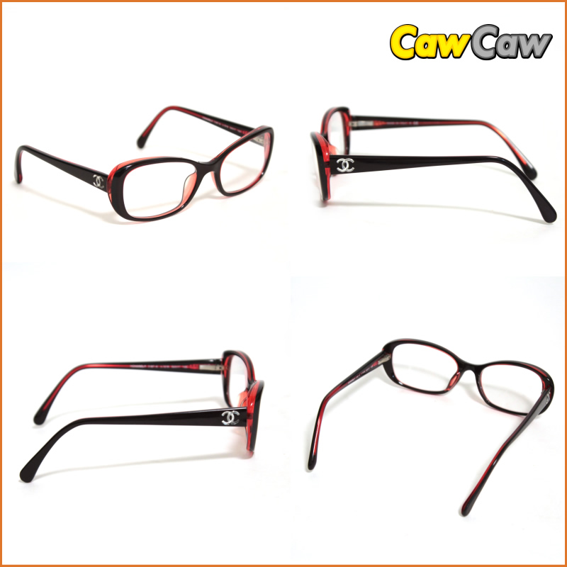 Chanel 3,187A C1219 eyewear glasses (there is no degree) CHANEL