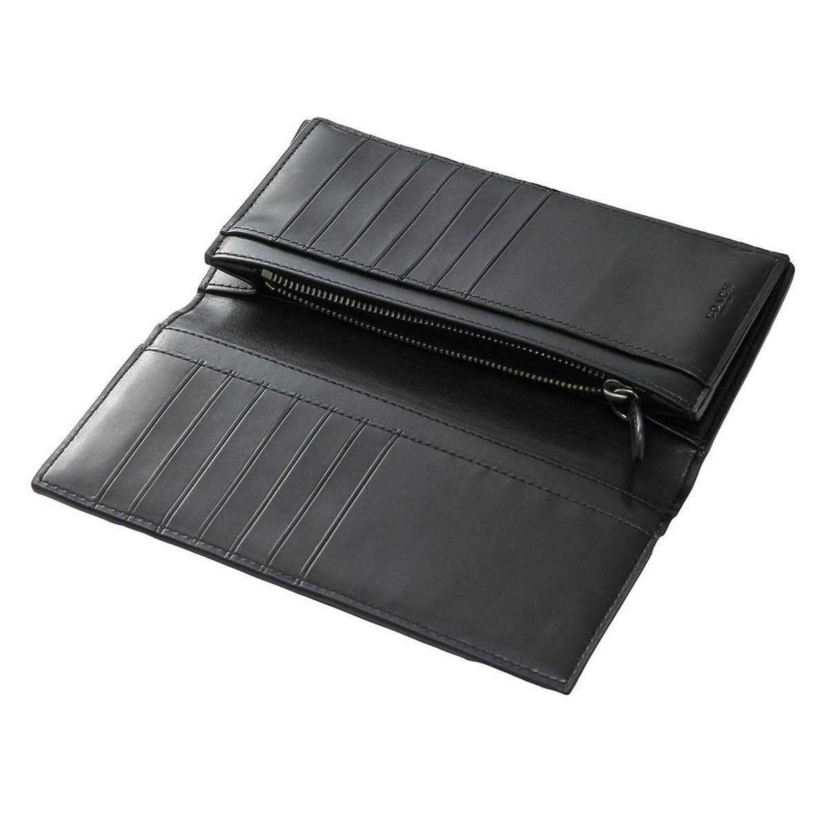 e0057a7c872db  Coach  Head COACH mens wallet F75013 charcoal   black signature PVC breast  pocket wallet  parallel import goods