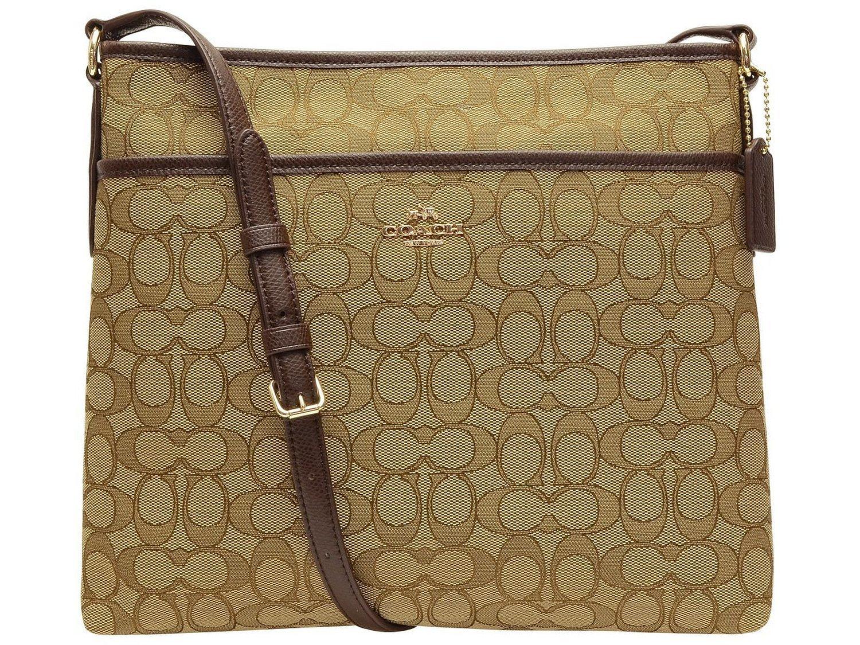 c0c00e211cdc SHOP LA JOLLA RAKUTEN BRUNCH  COACH shoulder bag F55363 khaki ...