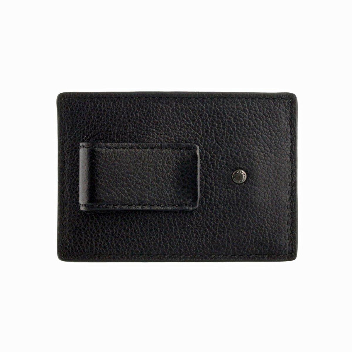 2a2a7a00 COACH men card case money clip F75459 black [parallel import goods]