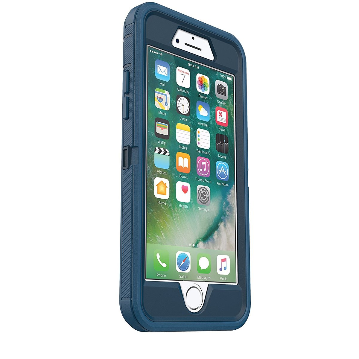 promo code f4781 3583a OtterBox Defender series for iPhone 7/iphone 8 blue (BLUE)